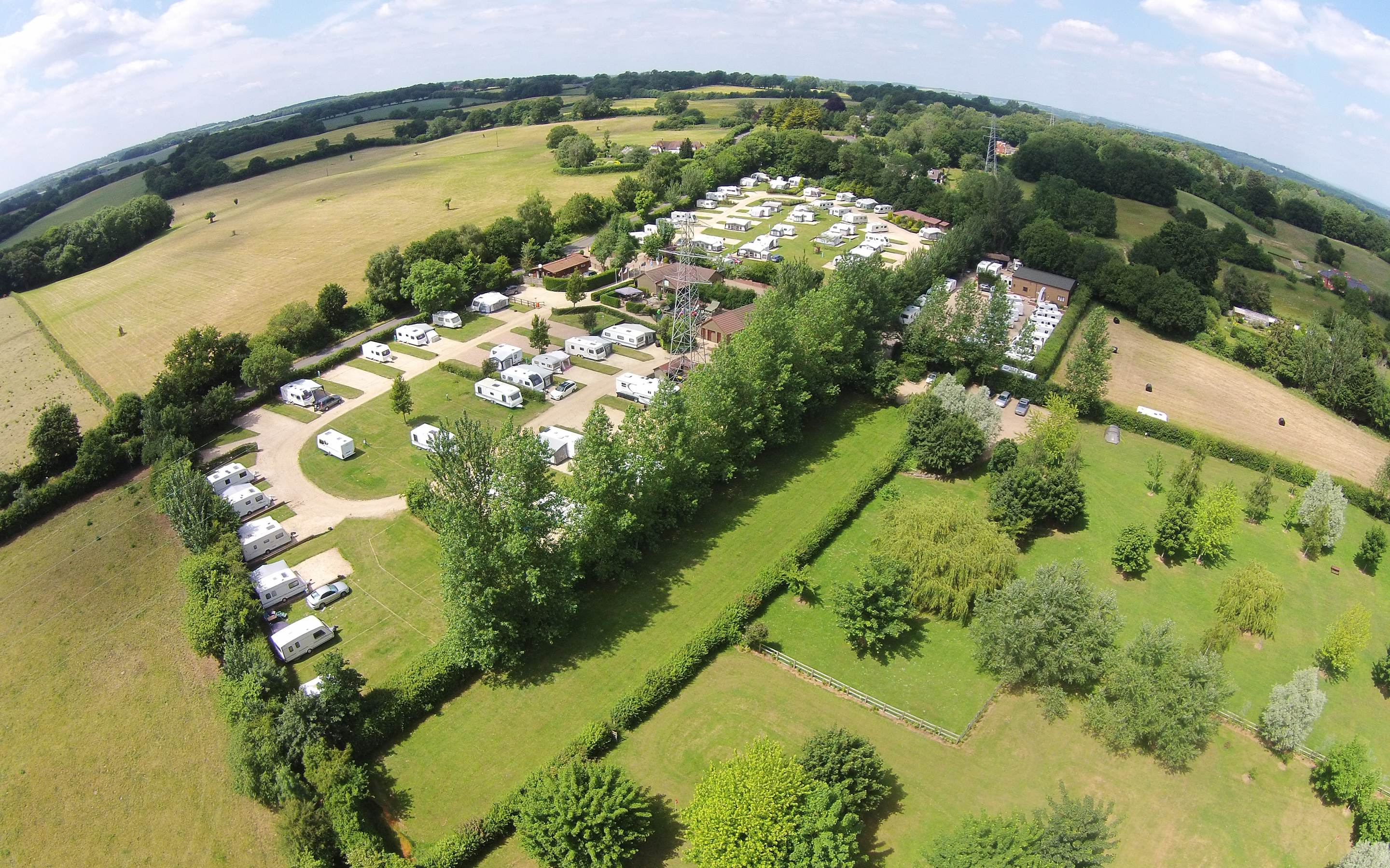 Luxury Camping Pitches Available